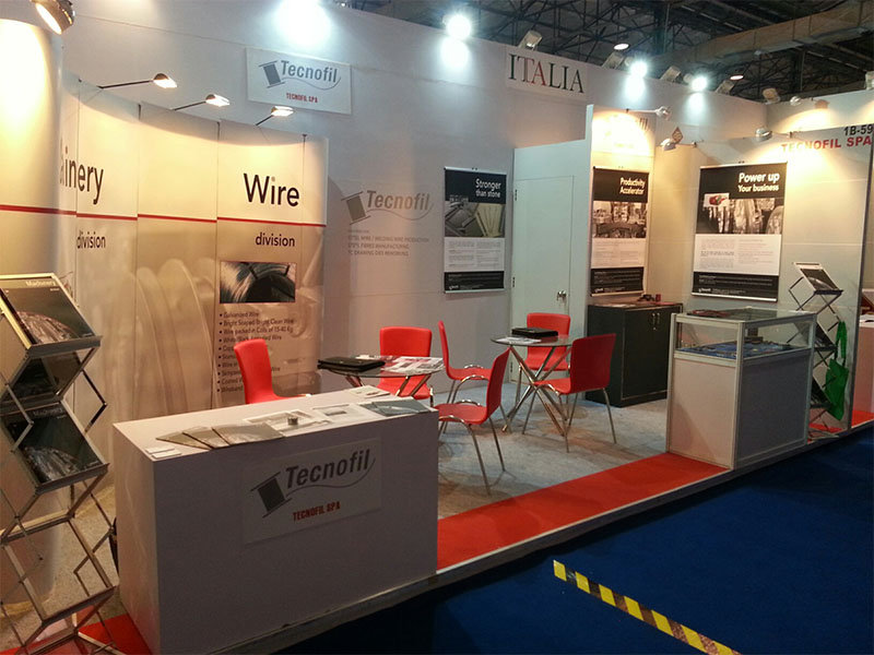 Tecnofil S.p.A. a Wire & Cable India 2014