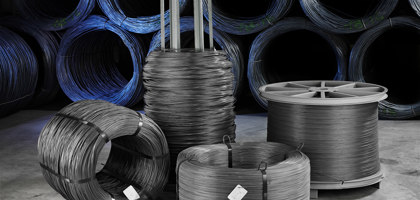 Bright iron wire