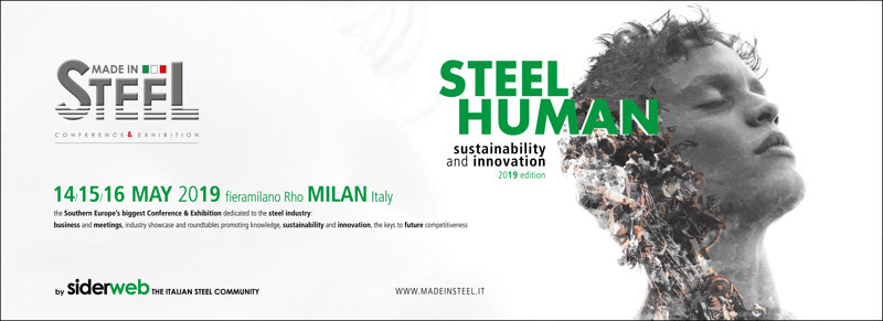 Tecnofil s.p.a. in Made in Steel Milano 2019